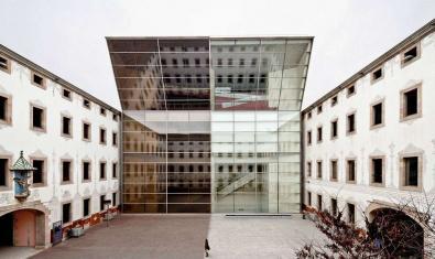 Pati interior del Centre de Cultura Contemporània de Barcelona