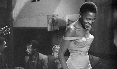 Fotograma de 'Come back, Africa', un dels films del cicle 'Cinemes de la diàspora negra'
