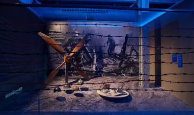 Una de les escenes representades de l'exposició