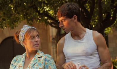 Clara Segura y Bruno Oro en 'Cobertura'