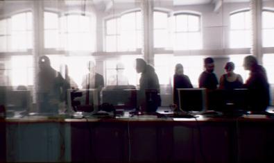 Una imatge d'una de les experiències de transmissió de vídeo en directe que es van poder veure en l'última edició d'aquestes jornades