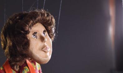 Una de las marionetas del espectáculo 'Colgando de un hilo'