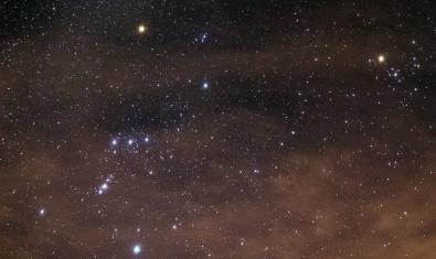 Imagen de la constelación de Orión