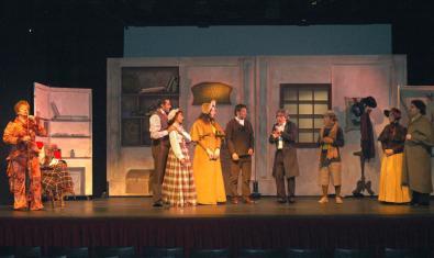 Escena de l'obra de teatre