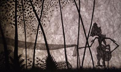 Un espectacle basat en els titelles i les ombres.