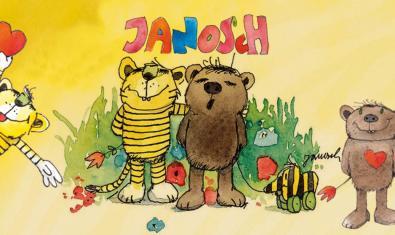 Janosch és un dels autors que trobem en aquesta selecció de contes.