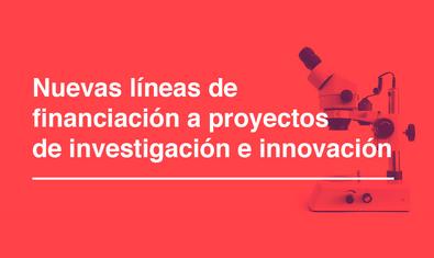 Imagen de las subvenciones extraordinarias a proyectos de investigación e innovación