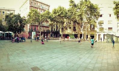 Una plaza de Gràcia