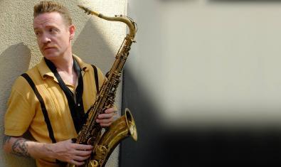Retrat del saxofonista Dani Nel·lo