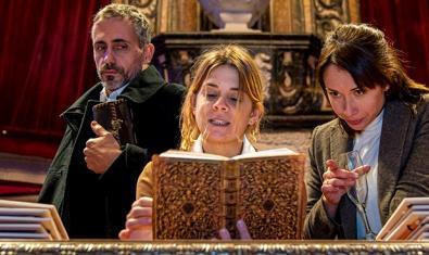 Un moment de l'obra 'Els darrers dies de Gaudí'