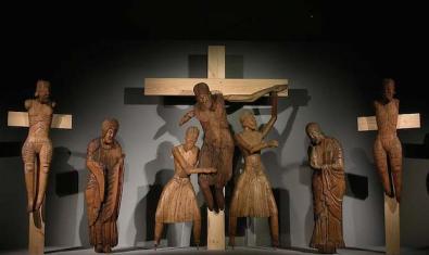 El Davallament d'Erill la Vall, un dels conjunts escultòrics romànics més coneguts del Museu Nacional