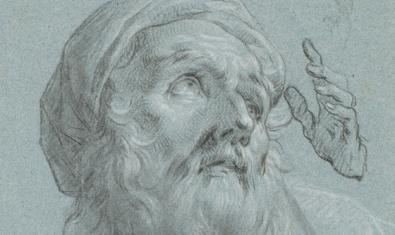 Dibujo de finales del siglo XVIII obra de Zacarías González Velázquez que se encuentra en la galería Artur Ramon Art