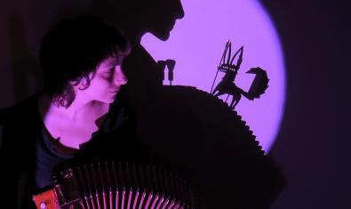 Fotografia de l'espectacle d'ombres
