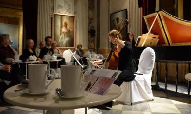 Concert de música clàssica al MEAM