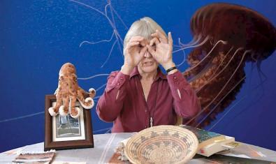 Donna Haraway en una imagen promocional