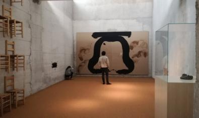 La 'Sala de Reflexió', d'Antoni Tàpies, es troba al Campus de la Ciutadella de la UPF