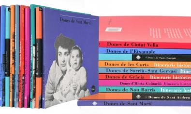 La col·lecció 'Dones de...' està disponible al web de Barcelona Llibres
