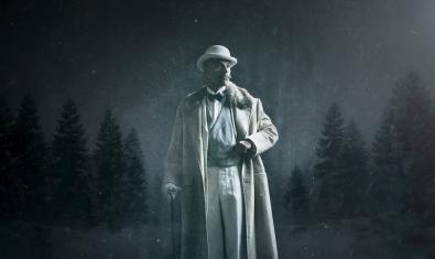 Eduard Farelo com a Hércules Poirot