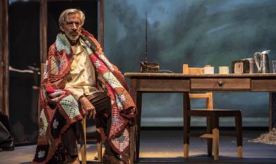Imatge de l'actor a l'escenari