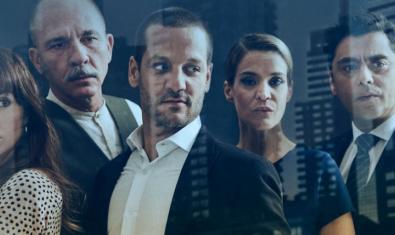 Los protagonistas de la serie argentina 'El lobista'