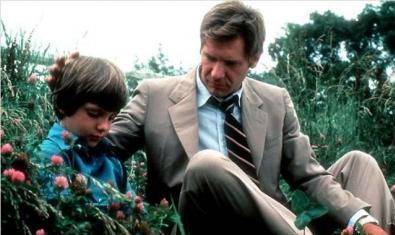 Harrison Ford y Lukas Haas en 'Único Testigo'