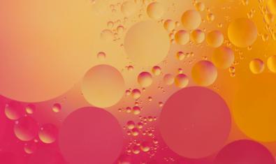 Aceite, agua y colores