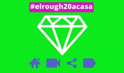 El cartel que anuncia la actividad muestra el dibujo de un diamante que sirve de logo del concurso