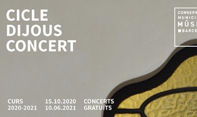 El cicle 'Dijous Concert' del Conservatori Municipal de Música de Barcelona