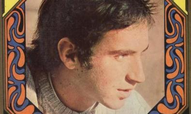 Carátula del disco de Lluís Llach en que se publicó la canción 'L'estaca', en 1968