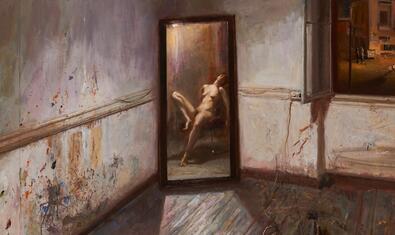Una de les obres que es poden veure a l'exposició del MEAM
