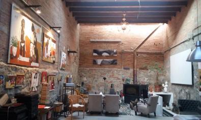 Vista de l'interior de la galeria Chez Xefo