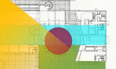 Cartel de la actividad. Plano urbanístico