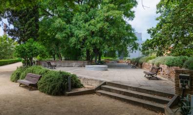 Els Jardins del Baluard, muralla de Barcelona. Fotografia de Pere de Prada i Arana