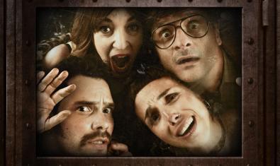 Los cuatro intérpretes de 'Escape Room'