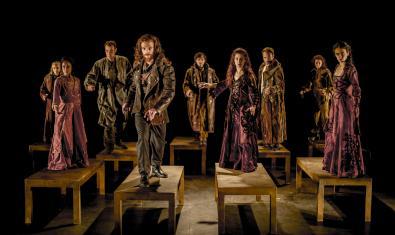 Imatge d'una escena de l'obra de teatre