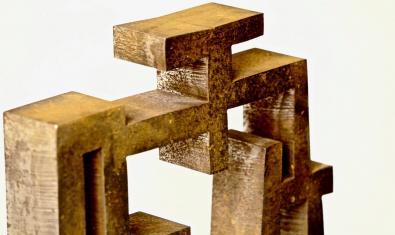 'Cases de poeta. Escultures de ferro, paraules de pedra'