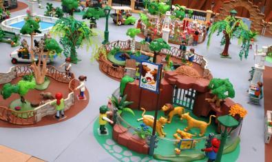 Exposició de clicks reproduint el Zoo