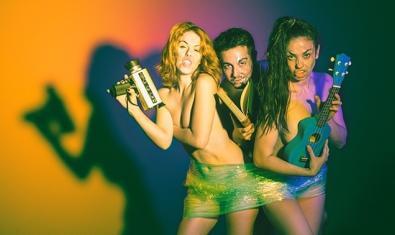 Imatge promocional de l'obra 'Estrip-Tesi', a partir del 18 de juliol a La Seca - Espai Brossa