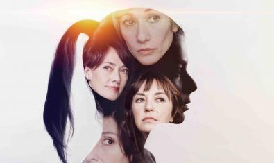 Un montaje fotográfico que muestra a las protagonistas de EVA, una propuesta teatral de las T de Teatre