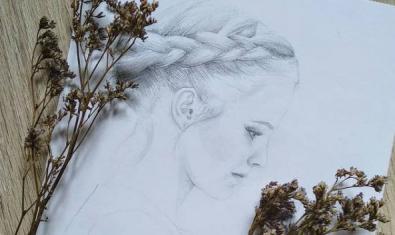 Detalle de uno de los dibujos de Zisis