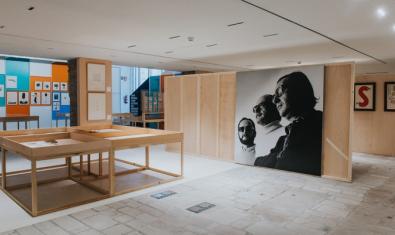 Uno de los espacios de la exposición que acoge la Fundación Joan Brossa