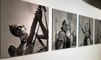 'Gràfica anarquista. Fotografia i revolució social, 1936-1939' és una de les exposicions que es poden recuperar amb l'arxiu digital