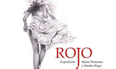 Cartell de 'Rojo', il·lustració de Marta Waterme
