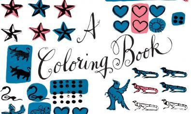 Detall de la coberta del llibre infantil il·lustrat per Andy Warhol.