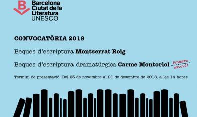 Convocatoria Becas Montserrat Roig y Carme Montoriol