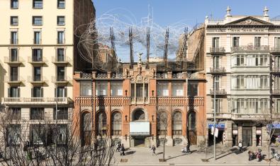 Fundació Tàpies' façade