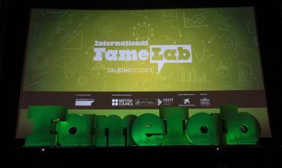 Imatge de l'escenari del Famelab