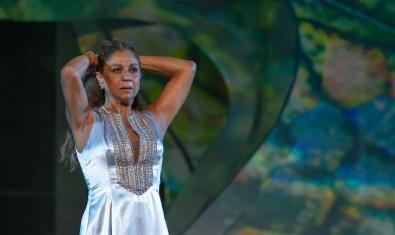 Lolita Flores durant la funció