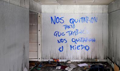 Un dels espais de l'exposició de Fernando Prats