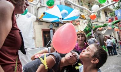Taller infantil con globos